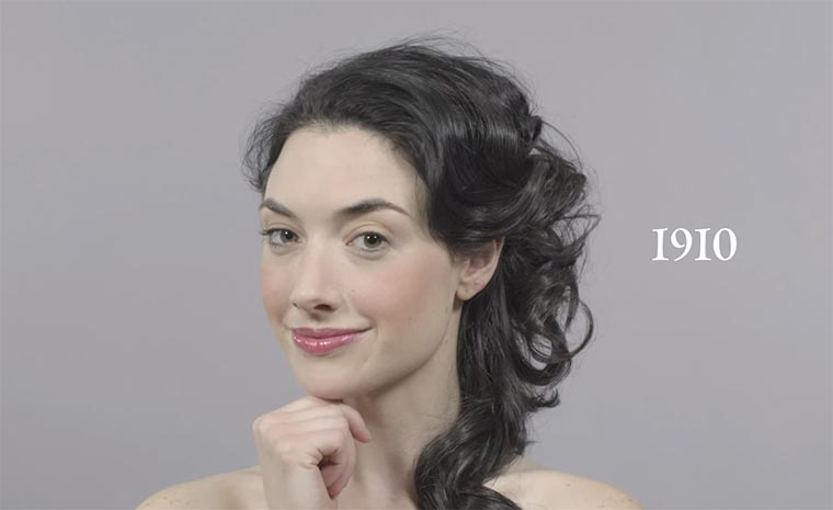 100 Years of Beauty in 1 Minute 100-years-of-beauty