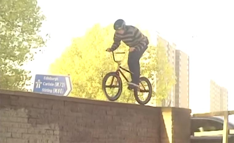 BMXing: Alex Donnachie