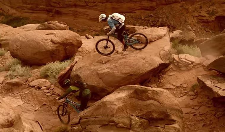 Mountainbike-Rennen ohne Kompromisse Beat-Down