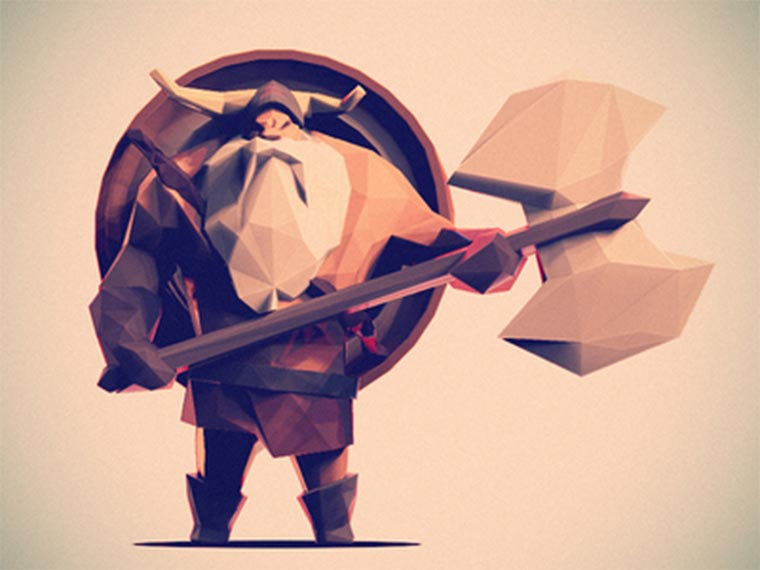 Low Poly Characters by Jona Dinges