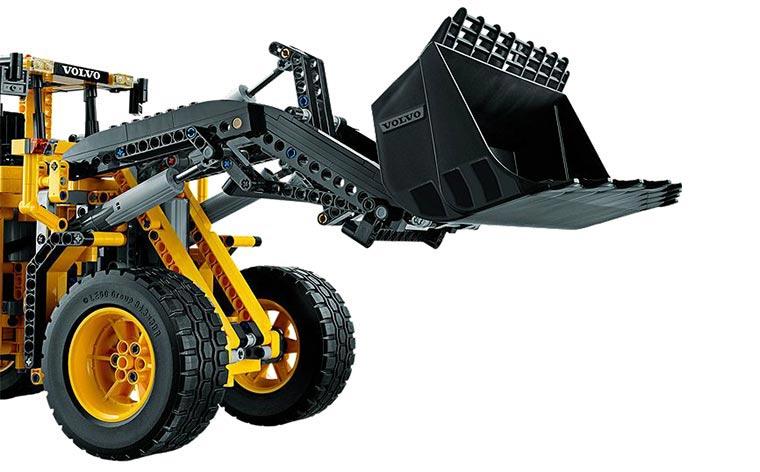 timelapse ich baue den lego technic radlader zusammen. Black Bedroom Furniture Sets. Home Design Ideas