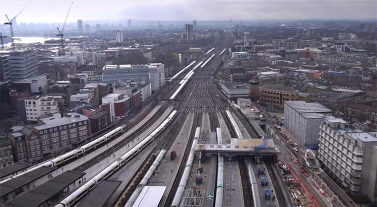 Timelapse: London Bridge Station London_Bridge_Station_TImelapse