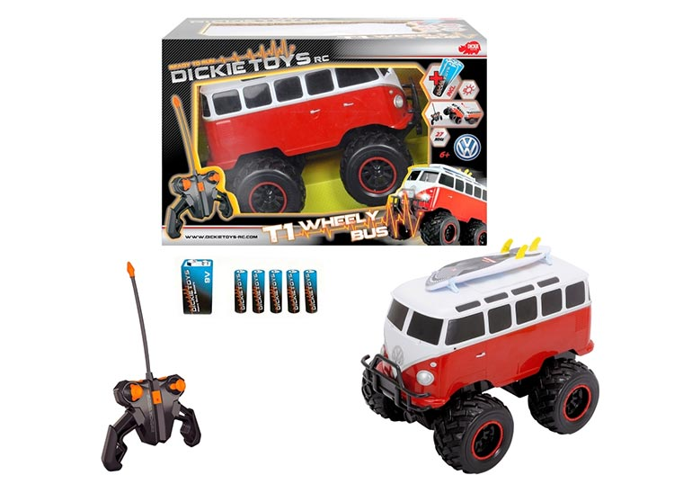 Ferngesteuerter VW T1-Bus von Dickie Toys RC-WV-T1_Wheely-Bus_02