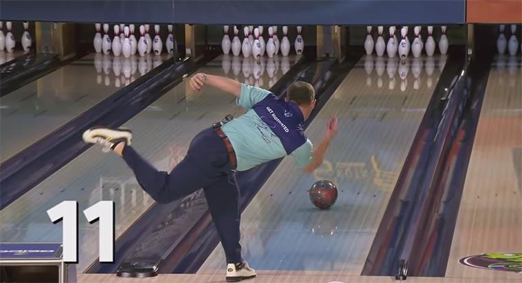 Das perfekte Bowling-Spiel Ronnie-Russell