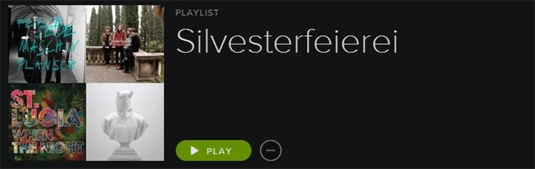 Silvester-Playlist Silvester_Playlist