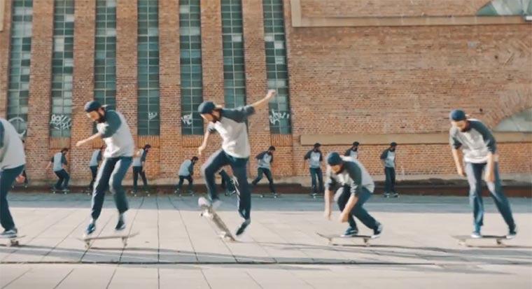 Skateboarding: Cliff cliff