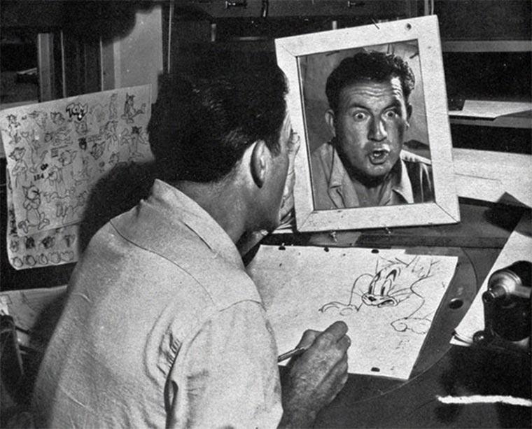Disney-Zeichner checken Mimik im Spiegel disney_mirror_01