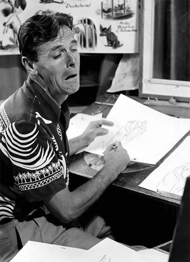 Disney-Zeichner checken Mimik im Spiegel disney_mirror_03