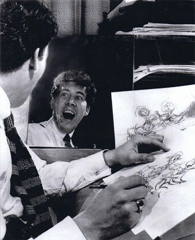 Disney-Zeichner checken Mimik im Spiegel disney_mirror_05