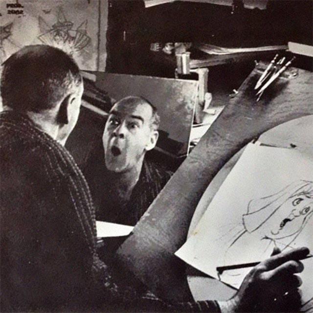 Disney-Zeichner checken Mimik im Spiegel disney_mirror_06