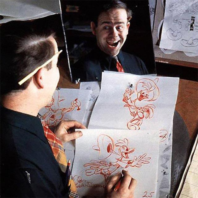 Disney-Zeichner checken Mimik im Spiegel disney_mirror_07