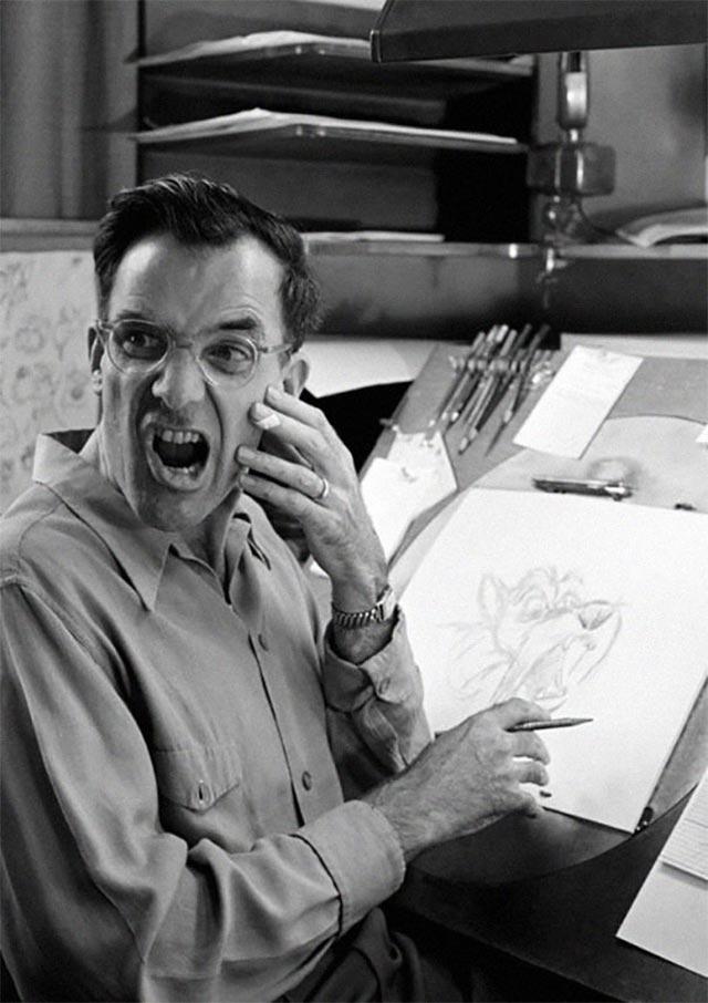 Disney-Zeichner checken Mimik im Spiegel disney_mirror_08