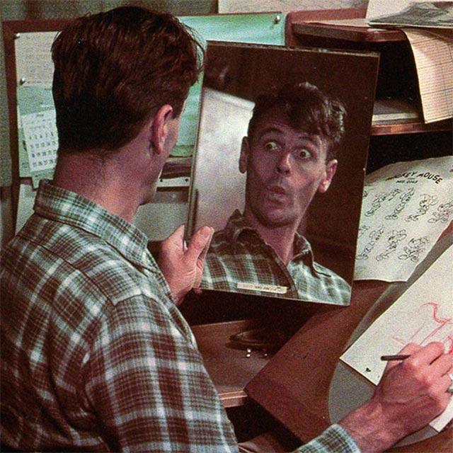 Disney-Zeichner checken Mimik im Spiegel disney_mirror_10