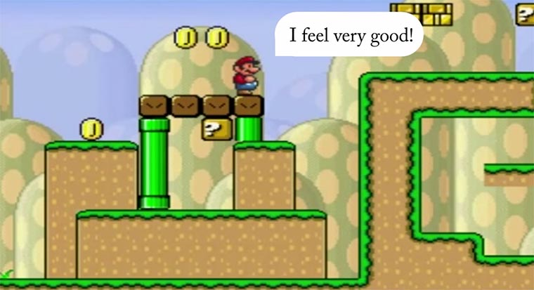 Super intelligenter Mario AI-Mario