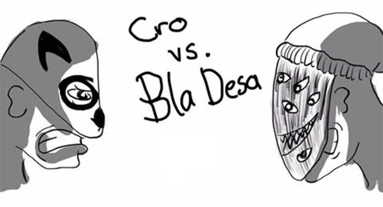 Rap Battle: Cro vs. Bladesa Cro-RBA
