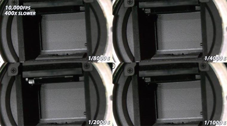 Wie funktioniert eine Spiegelreflex? DSLR_slowmotion