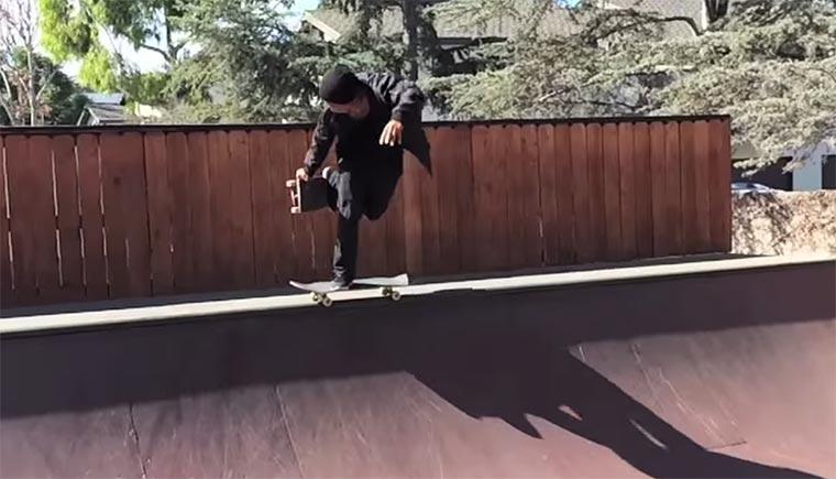 Skateboarding: Daewon Song Daewon-Song