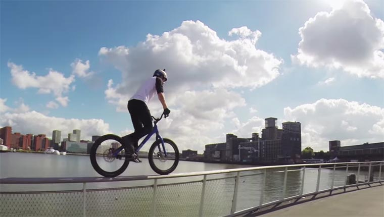 Danny MacAskill Rides Rotterdam