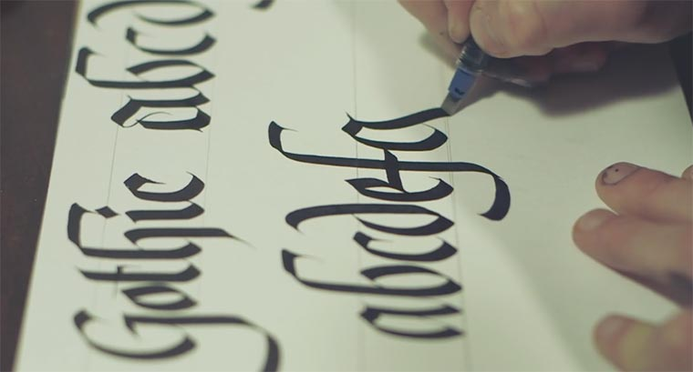 Calligraphy: Ged Palmer Ged-Palmer