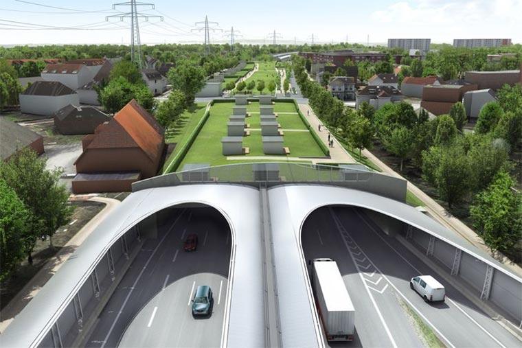 Hamburg überdacht die A7 mit Parks Hamburger-Deckel_01