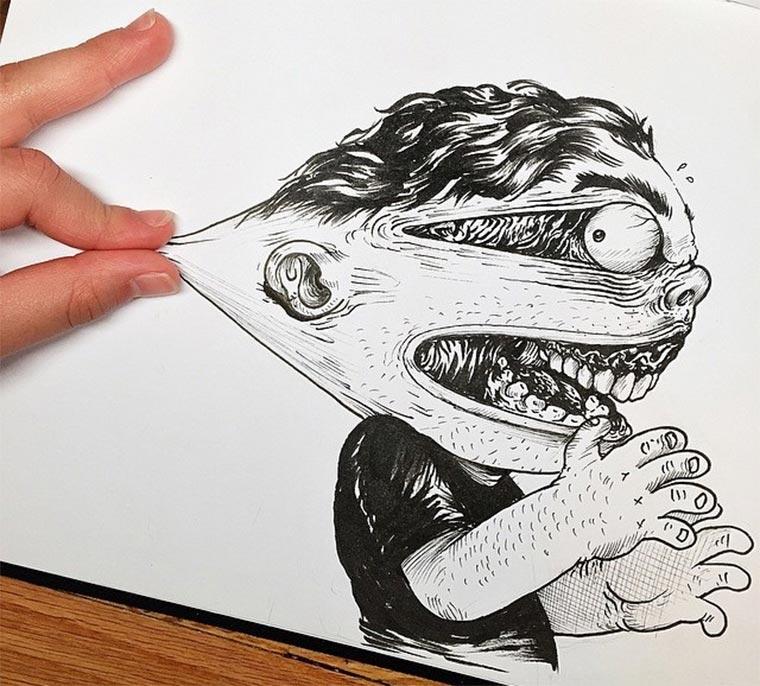 Zeichner vs. Zeichnung Interactions_Alex-Solis_01