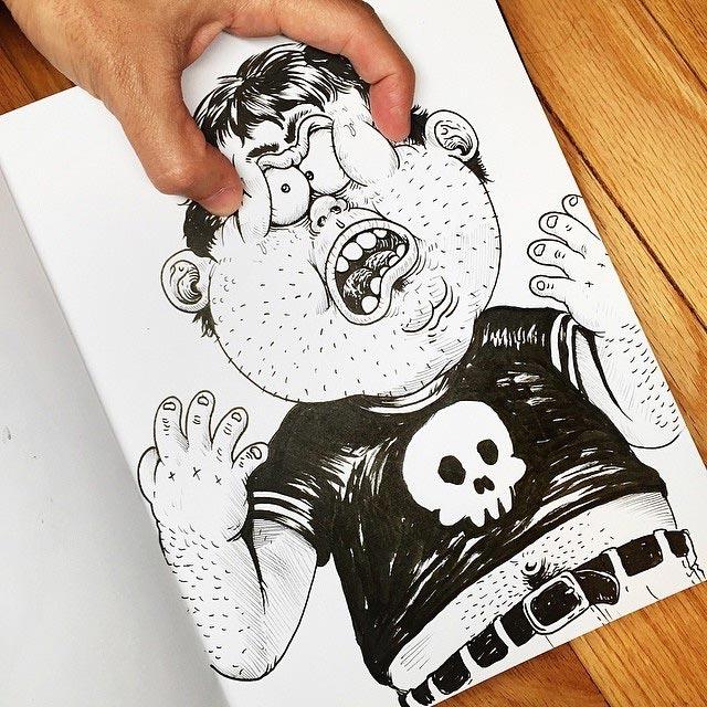 Zeichner vs. Zeichnung Interactions_Alex-Solis_02