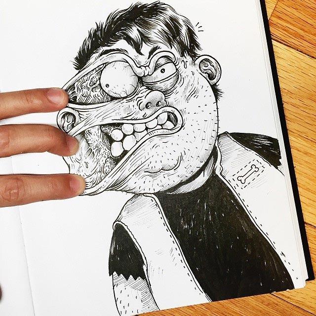 Zeichner vs. Zeichnung Interactions_Alex-Solis_03