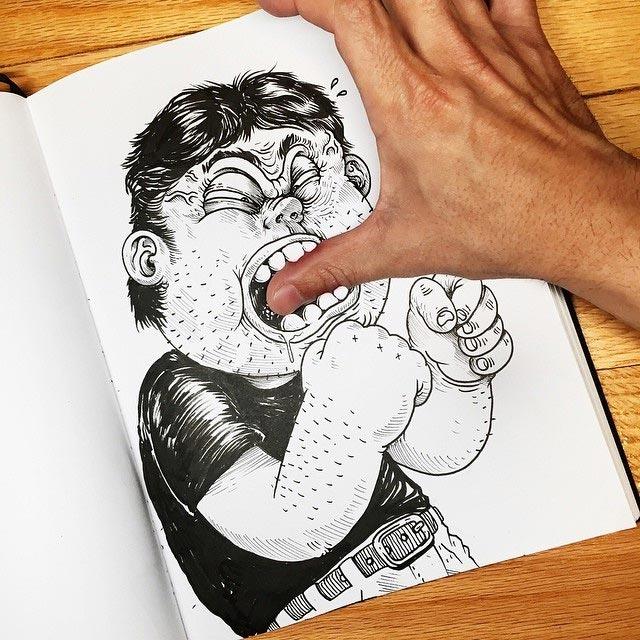 Zeichner vs. Zeichnung Interactions_Alex-Solis_05