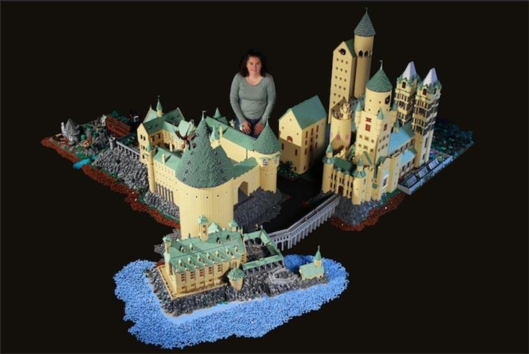 Hogwarts aus 400.000 LEGO-Steinen LEGO-Hogwarts_01