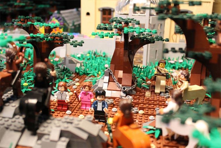Hogwarts aus 400.000 LEGO-Steinen LEGO-Hogwarts_05