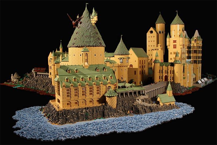 Hogwarts aus 400.000 LEGO-Steinen LEGO-Hogwarts_07