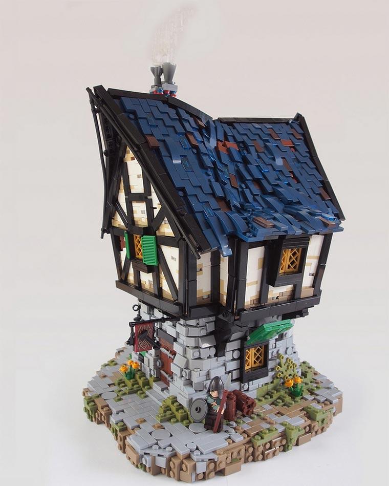 Originelle LEGO-Fantasy-Bauten Legonardo_02