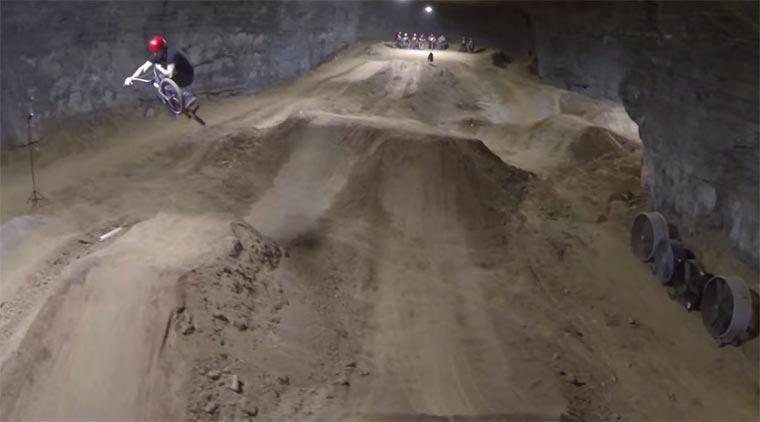 Bike Park unter Tage Mega-Cavern_Bike-Park
