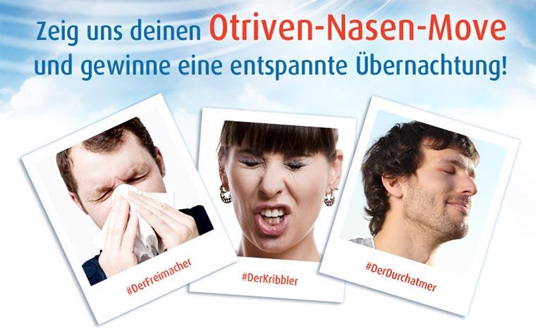 Nase und Mund streiten in der Bahn Otriven_Nasen-Move