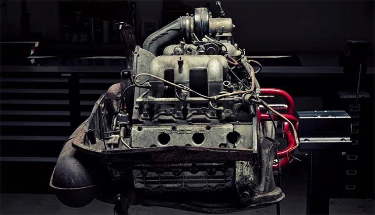 Porsche-Teardown