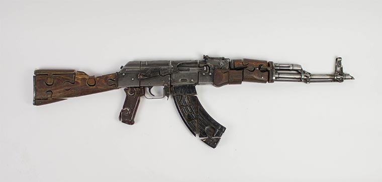 Puzzles aus illegalen Waffen Waffenpuzzle_03