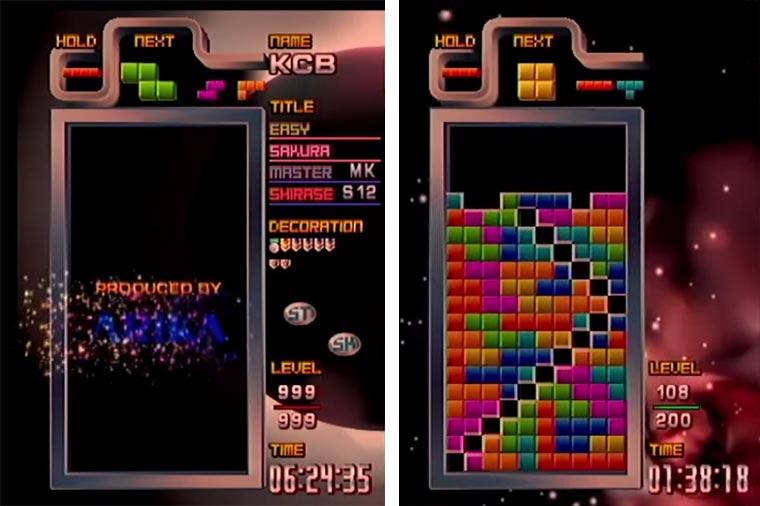 Tetris ultraschnell und unsichtbar crazy-tetris