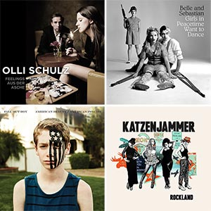 Musik-Kurzreviews Januar 2014 - Olli Schulz, Belle & Sebastian, Fall Out Boy & Katzenjammer
