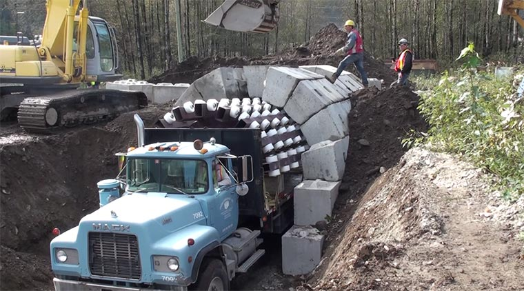 Steinbogenbau-Unterstützungs-Fahrzeug steinbogenbaufahrzeug