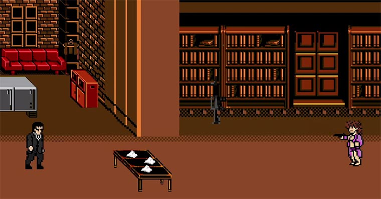 8 Bit Cinema: Scarface 8-bit-cinema_Scarface