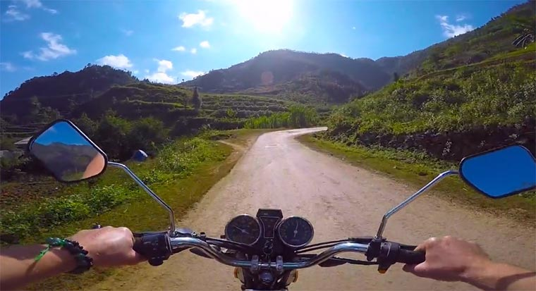 Mit dem Motorrad durch Asien