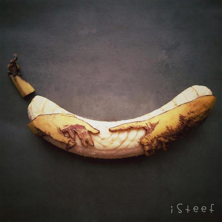 Kreative Bananen-Kunst Bananenkunst_02