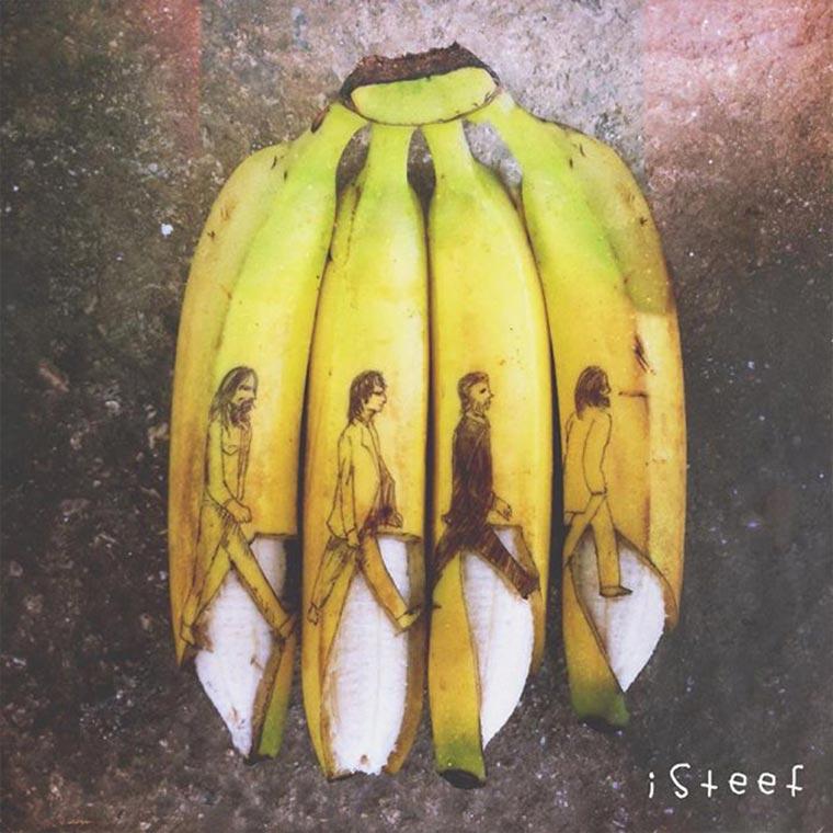Kreative Bananen-Kunst Bananenkunst_07