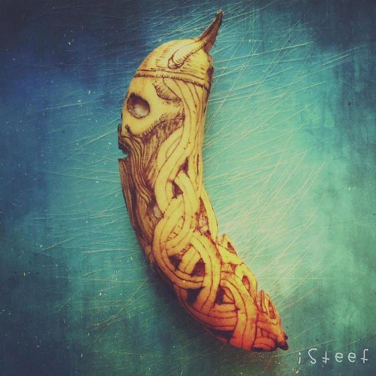 Kreative Bananen-Kunst Bananenkunst_09