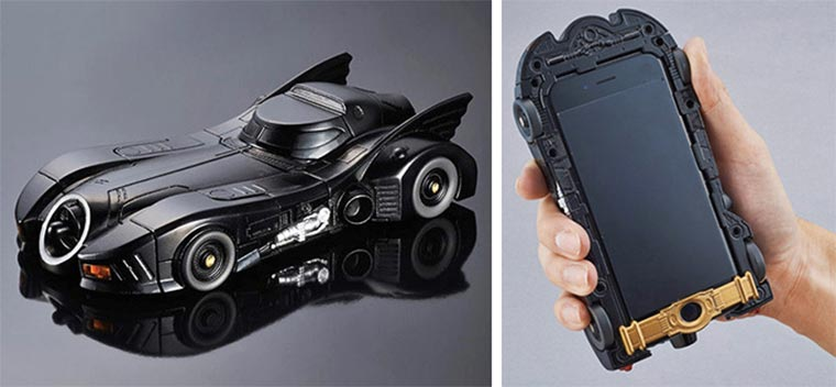 Batmobile iPhone-Case