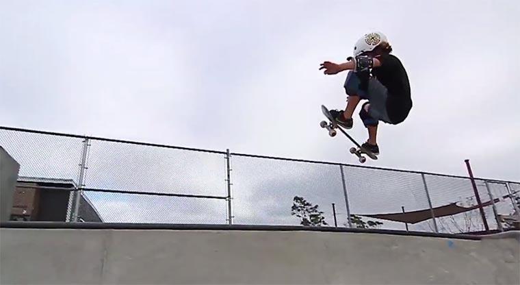 Skateboard-Video eines 9-Jährigen Cruise-Mosberg