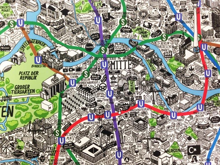 Handgemalte Stadt-Karten Jenni-Sparks_03
