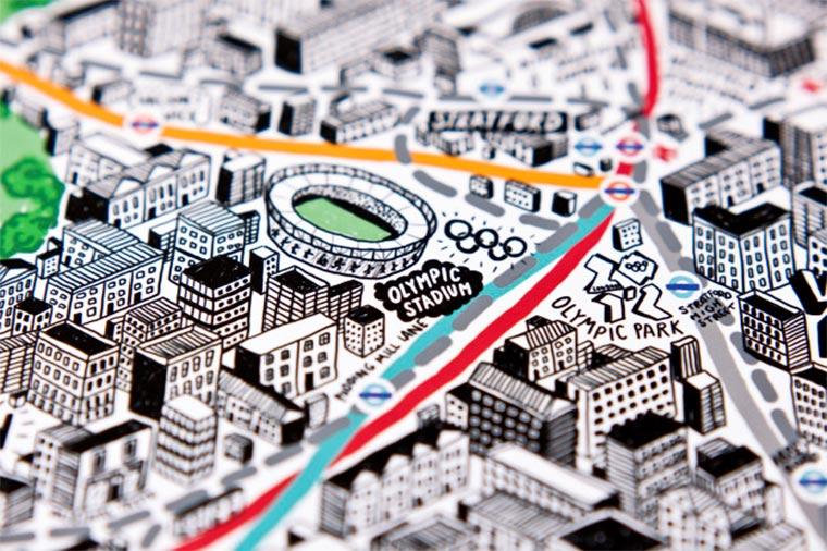 Handgemalte Stadt-Karten Jenni-Sparks_11