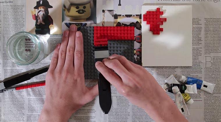 Malen mit LEGO LEGO-paint