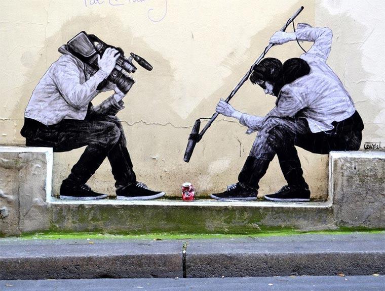 Street Art: Levalet Levalet_06